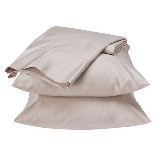 Fieldcrest Luxury Egyptian Cotton 500 Thread Count Geometric Sheet Set, California King