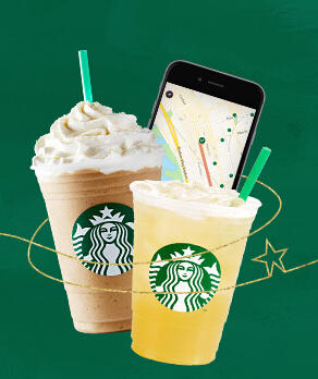 50% Off Any Frappuccino, Blended Beverage @Starbucks