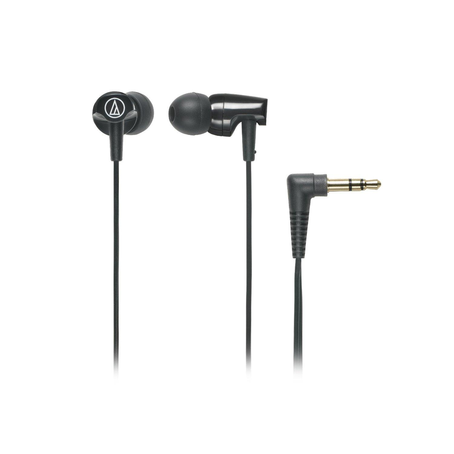 Audio-Technica ATH-CLR100BK In-Ear Headphones