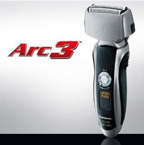 Panasonic Arc3 Electric Razor, Men's 3-Blade Cordless with Wet/Dry Convenience, ES-LT41-K
