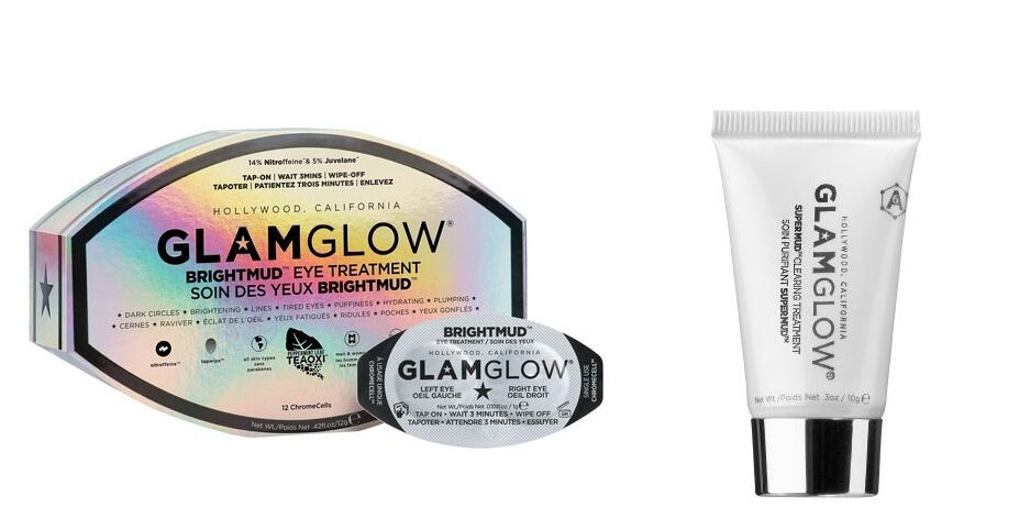 Ending Tonight! Free Full size BRIGHTMUD + Clearing Treatment Tube with any $69 order @ GlamGlowMud