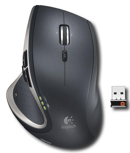 Logitech - Performance Mouse MX - Black