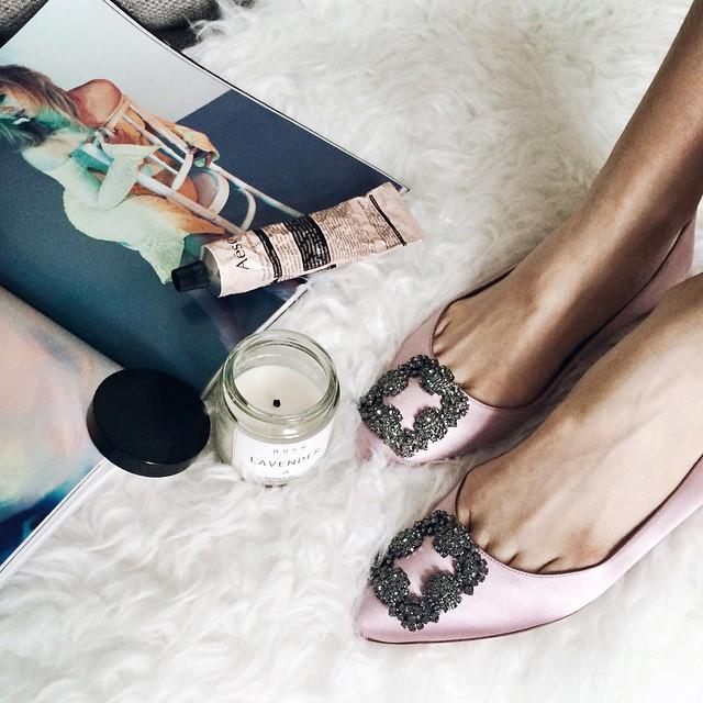 Up to $250 GIFT CARD with Manolo Blahnik Shoes Purchase @ Neiman Marcus