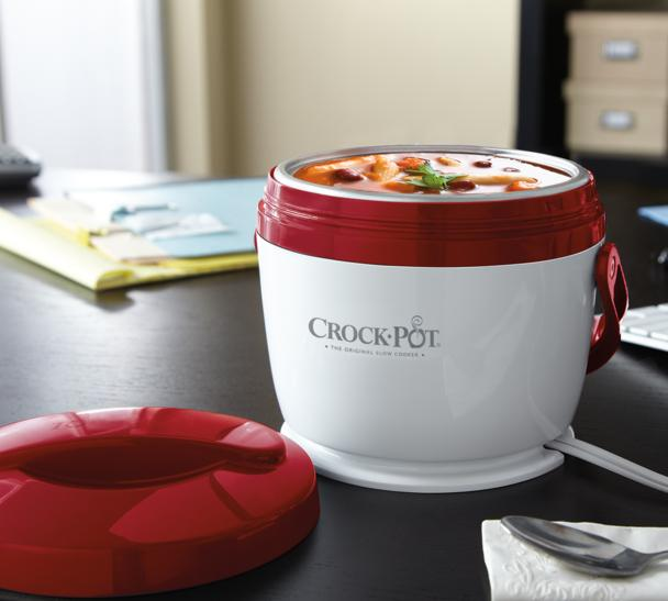 Crock-Pot SCCPLC200-R 20-Ounce Lunch Crock Food Warmer, Red @ Amazon