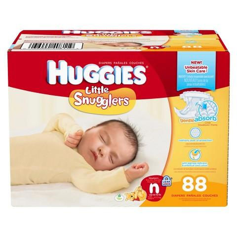 From $16.62 Huggies diapers Super Pack