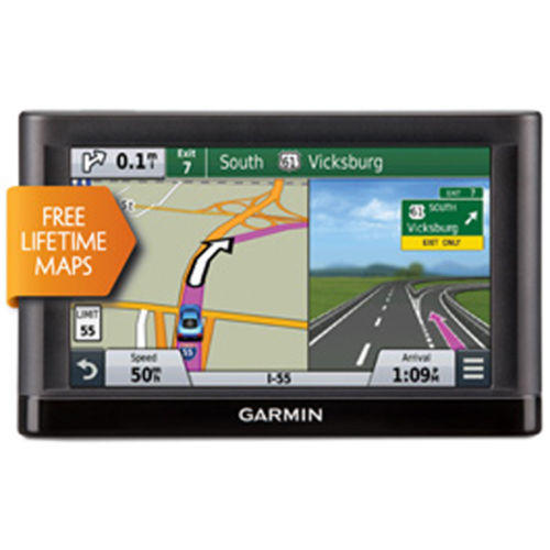"$99.99 Garmin nuvi 65LM GPS Navigation System with Lifetime Maps 6"" Display"