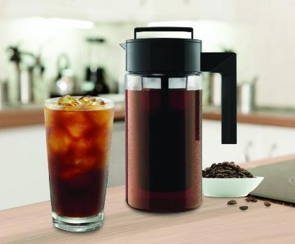 #1 Best seller! $16.99 Lowest price! Takeya Cold Brew Iced Coffee Maker, 1-Quart, Black
