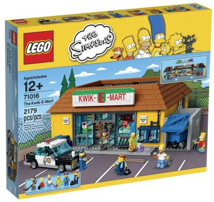 LEGO Simpsons KWIK-E-Mart 71016 (LEGO Hard to Find)