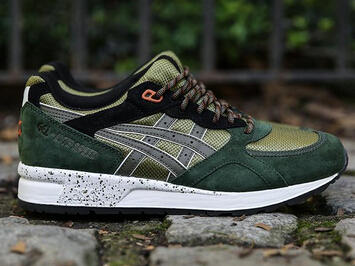 Asics GEL LYTE SPEED (OLIVE/DUFFLE BAG Olive) Men's Shoe H54DK.6979