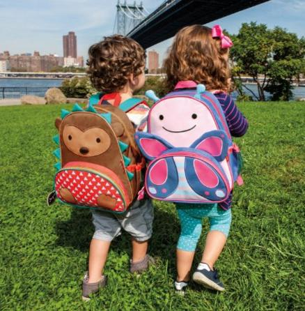 Skip Hop Zoo Pack Little Kid Backpack, Hedgehog @ Amazon