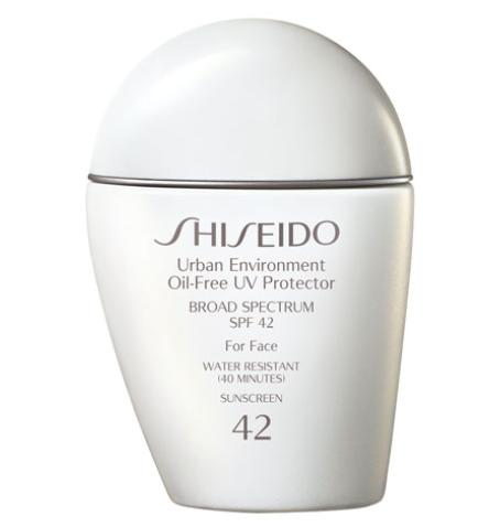 Last Day!! $32 Shiseido Urban Environment Oil-Free UV Protector SPF 42