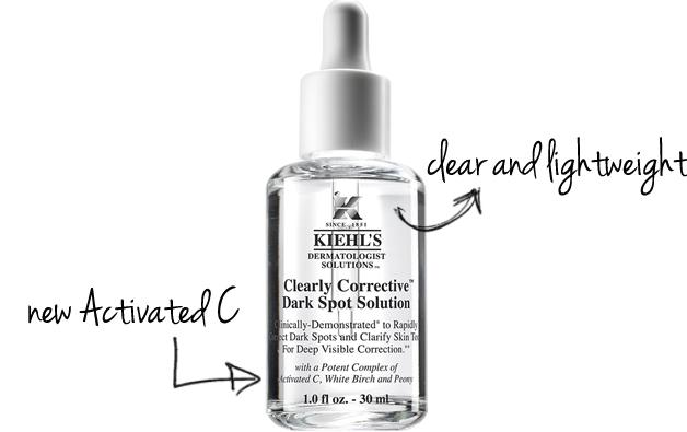 $78 + 6 deluxe samples Clearly Corrective™ Dark Spot Solution 1.7oz @ Kiehl's