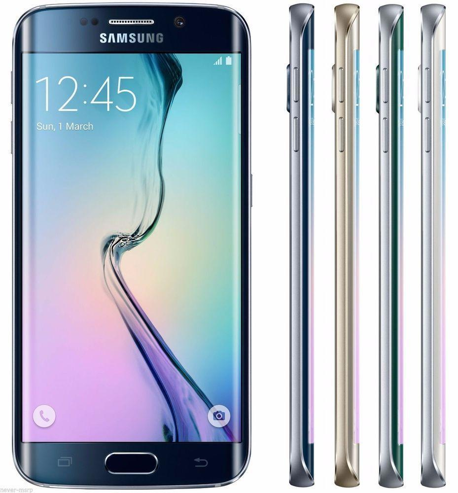 $469.99 Samsung Galaxy S6 Edge G925 128GB Unlocked GSM + Verizon 4G LTE Smartphone