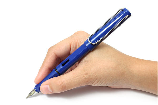 $18.00 LAMY Safari Fountain Pen Blue Ex-Fine (L14EF)