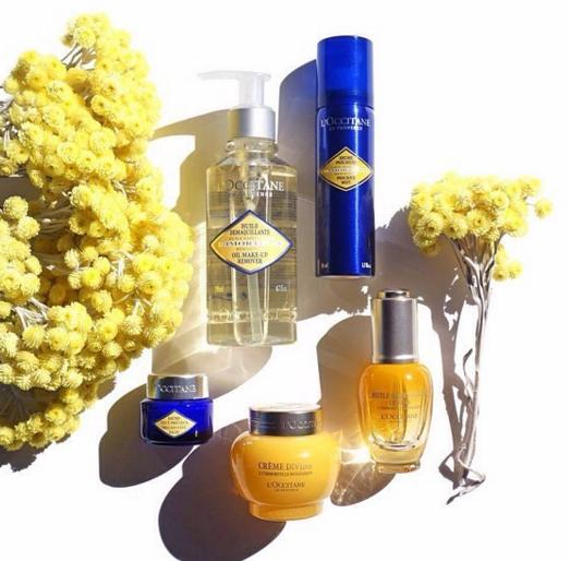 Free Deluxe Samples with Any Purchase @ L'Occitane
