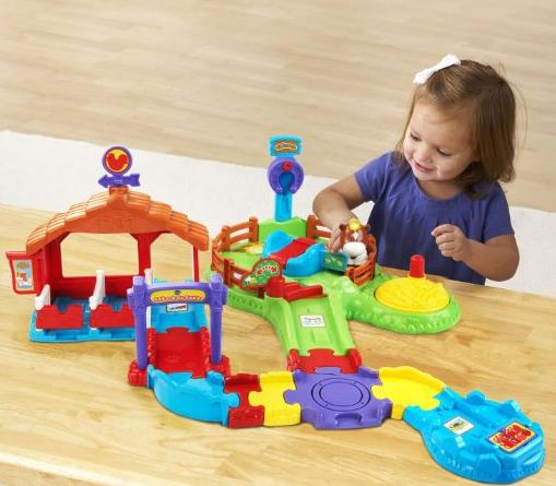 VTech Go! Go! Smart Animals Gallop and Go Stable @ Amazon