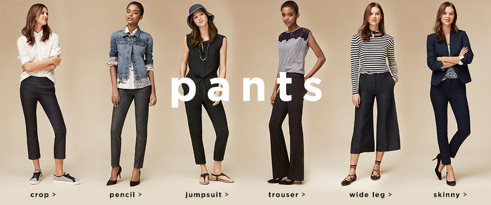 $20 Off Regular-price Pants and Jeans @ Loft
