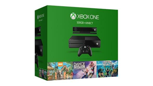 Xbox One + Kinect Bundle + Free Select Game + $50 Microsoft Store gift code