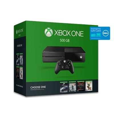 $349.99 Xbox One 500GB Console bundle + BDA Charging Stand + $100 Dell Gift Card