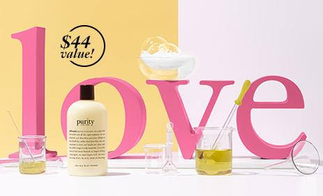 Free Luxury-size Purity With Any $45 Purchase @ philosophy
