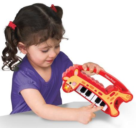 Fisher Price KFP2131 My First Real Piano Toy @ Amazon