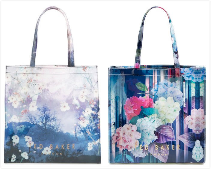 $35.4 Ted Baker London 'Danacon - Large Hydrangea Haze Icon' Tote On Sale @ Nordstrom