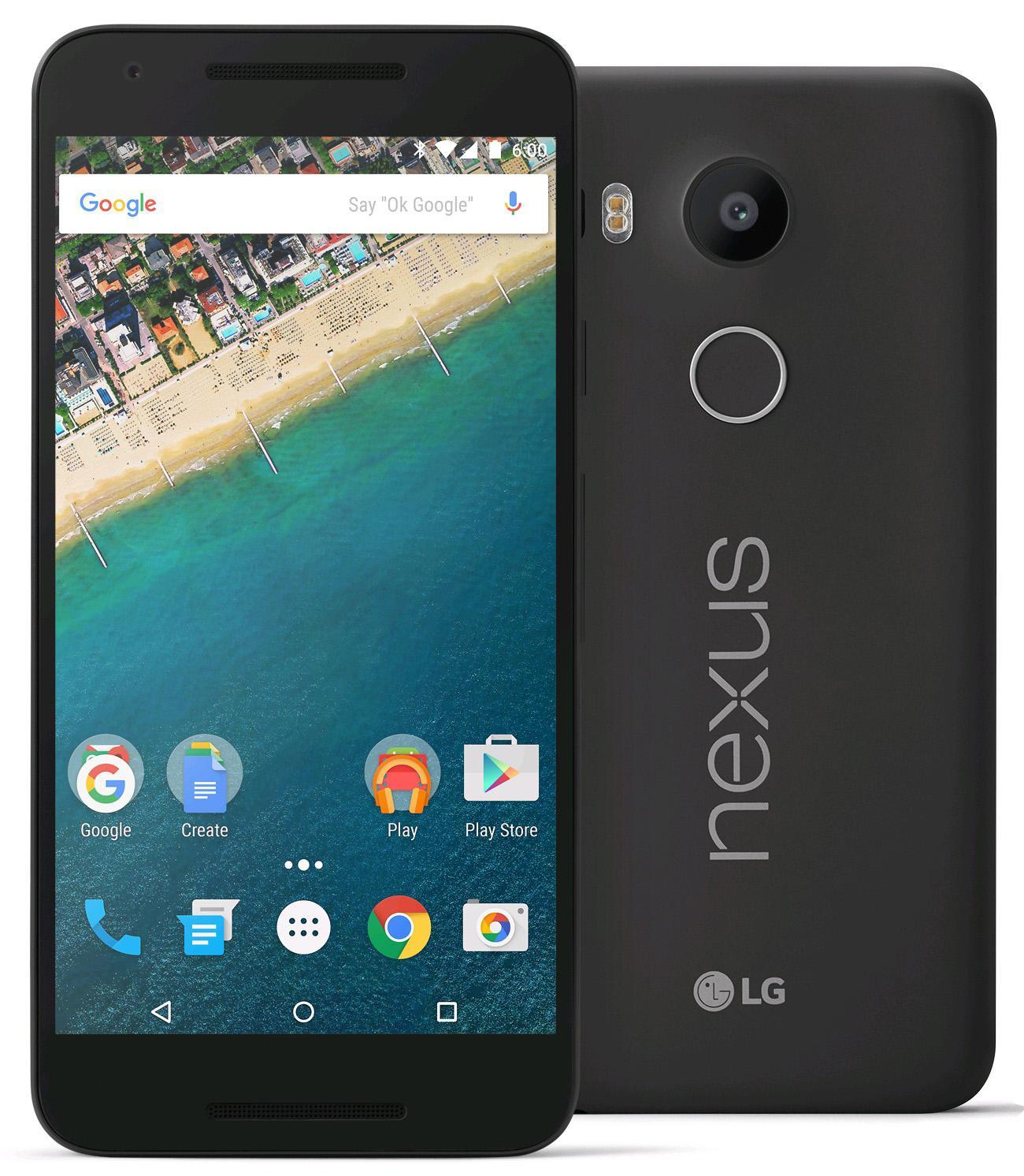 $249.99 LG Google Nexus 5X Unlocked 32GB Smartphone (H791)