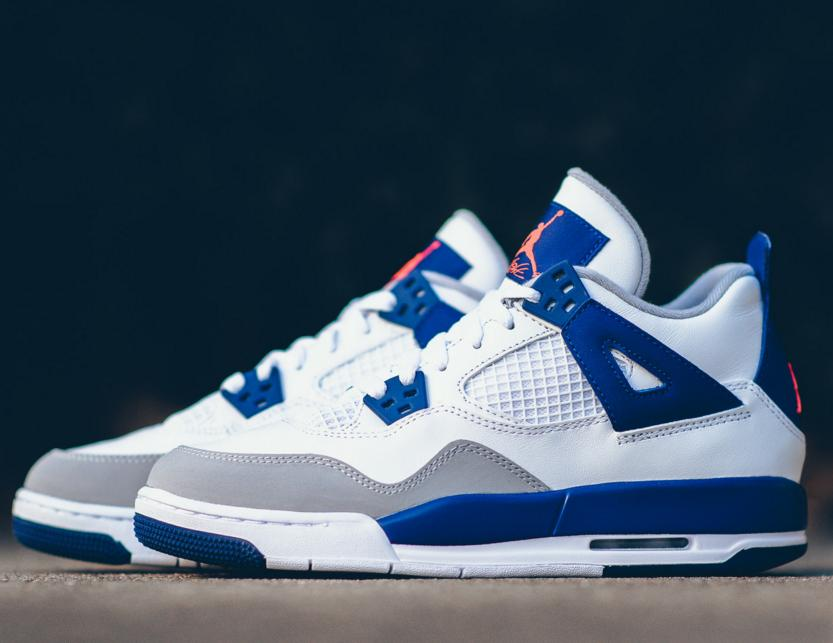 "$139.99 Air Jordan 4 GS ""Deep Royal Blue"" @ FinishLine.com"