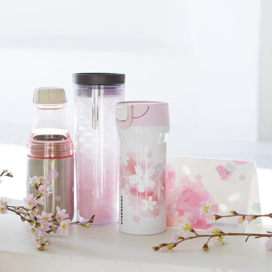 Up to 25% Off + 10% Off Japan Starbucks Sakura 2016 Drinkware @ Yamibuy