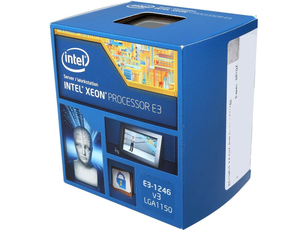Intel Xeon E3-1246 v3 3.5GHz 8MB L3 LGA 1150 Server Processor