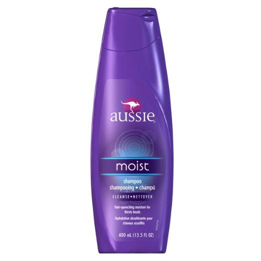 Aussie Moist Shampoo 13.5 Fl Oz (Pack of 6)