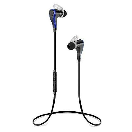 EGRD 2015 Newest Bluetooth 4.0 Wireless Stereo Earbuds with Noise Cancellation