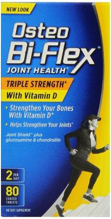 Osteo Bi-Flex Triple Strength with Vitamin D, 80 Coated Tablets