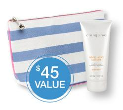 Free Travel Bag and 6 oz Gentle Hydro Cleanserwith Orders Over $149 @ Clarisonic