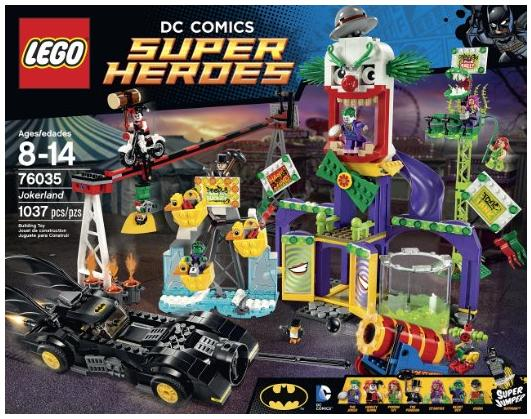 LEGO Super Heroes 76035 Jokerland Building Kit