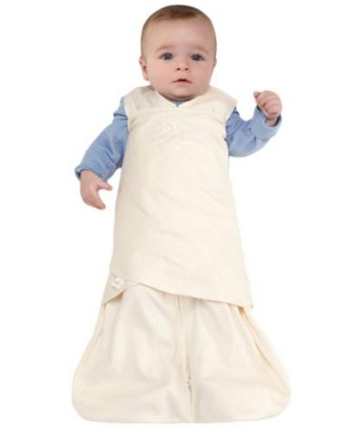 HALO SleepSack 100% Cotton Swaddle, Cream, Small @ Amazon