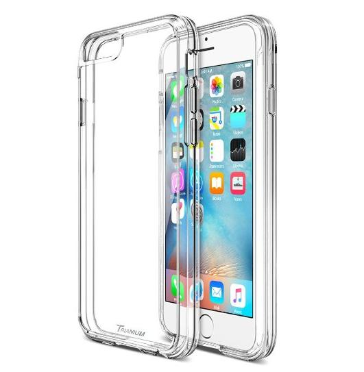 iPhone 6S Case , Trianium [Clear Cushion] Premium iPhone 6 Case Bumper (4.7 Inch)