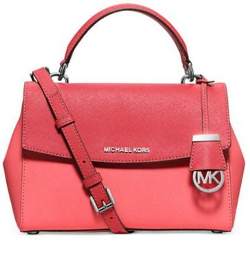 MICHAEL Michael Kors Ava Colorblock Small Top Handle Satchel @ macys.com
