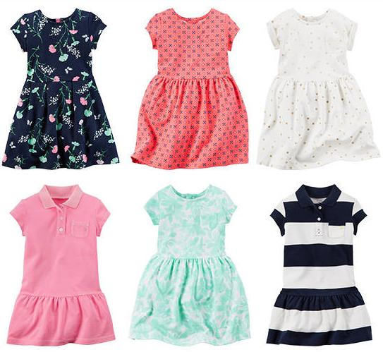 $10 Knit Dresses Doorbuster @ Carter's