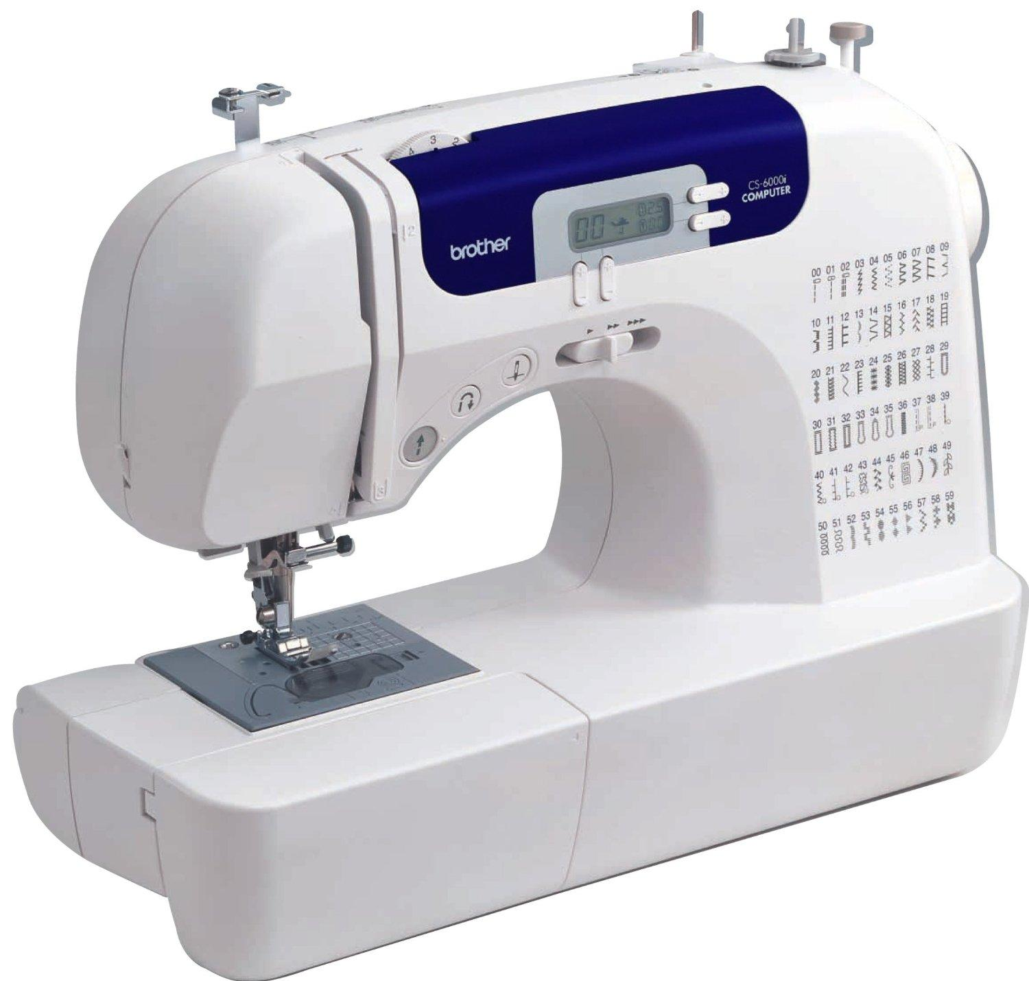 $114.98 Brother CS6000i Feature-Rich Sewing Machine