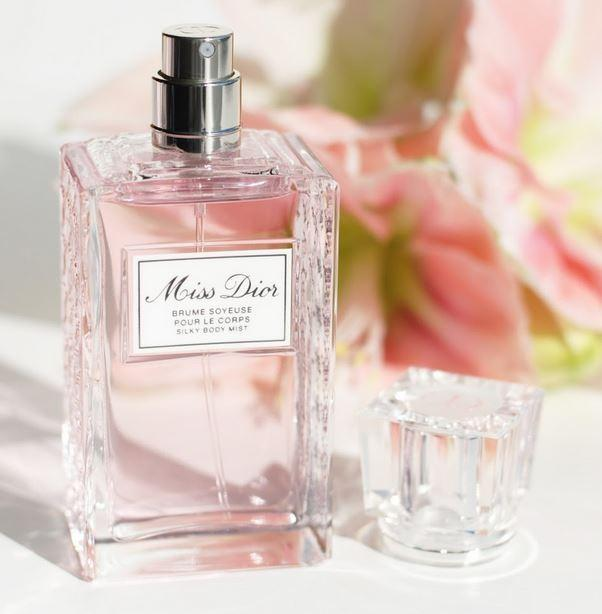 New Release! Miss Dior Silky Body Mist