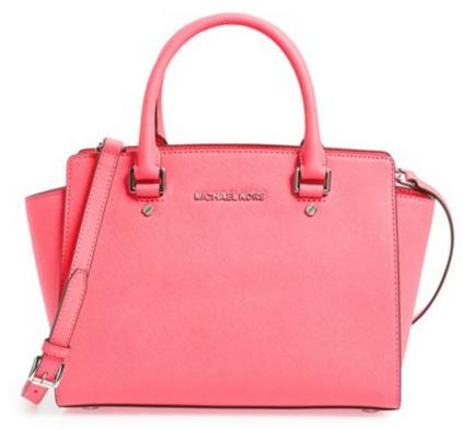MICHAEL Michael Kors 'Selma Medium' Zip-Top Satchel