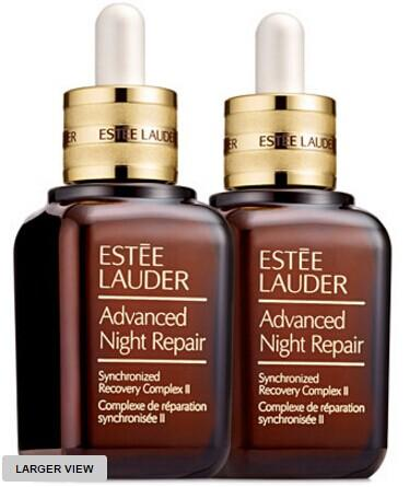 $155 + 14-Pc Gift Estée Lauder Advanced Night Repair Synchronized Recovery Complex II Duo @ macys.com
