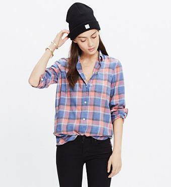 Extra 30% Off Spring Shirt Sale @ Madewell
