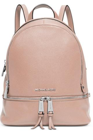 from $122.99 MICHAEL Michael Kors Rhea Zip Backpack @ macys.com