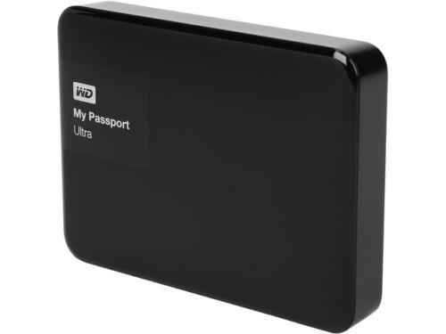 3TB Western Digital My Passport Ultra Portable USB 3.0 Hard Drive