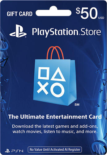 $100 PlayStation Network Card
