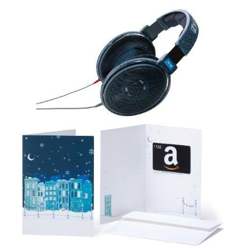 Sennheiser HD 600 Open Back Professional Headphone with Amazon.com $150 Gift Card