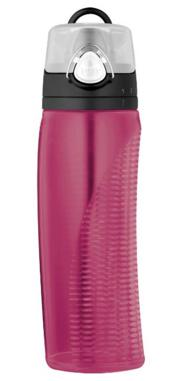 Thermos Intak 24 Ounce Hydration Bottle with Meter, Magenta