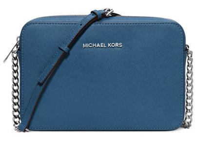 MICHAEL Michael Kors Jet Set Large Saffiano Leather Crossbody